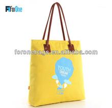 Active school hand bag wholesale colorful hangbag