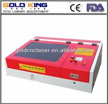 GK-4040 working size 40cm*40cm desktop laser engraver