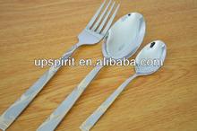 18pcs/set unique luxury restaurant 18/10 stainless steel tableware cutlery
