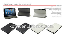 newest!!! For iPad leather case, multifunctional rotary leather cases for iPad mini, high quality for iPad mini case