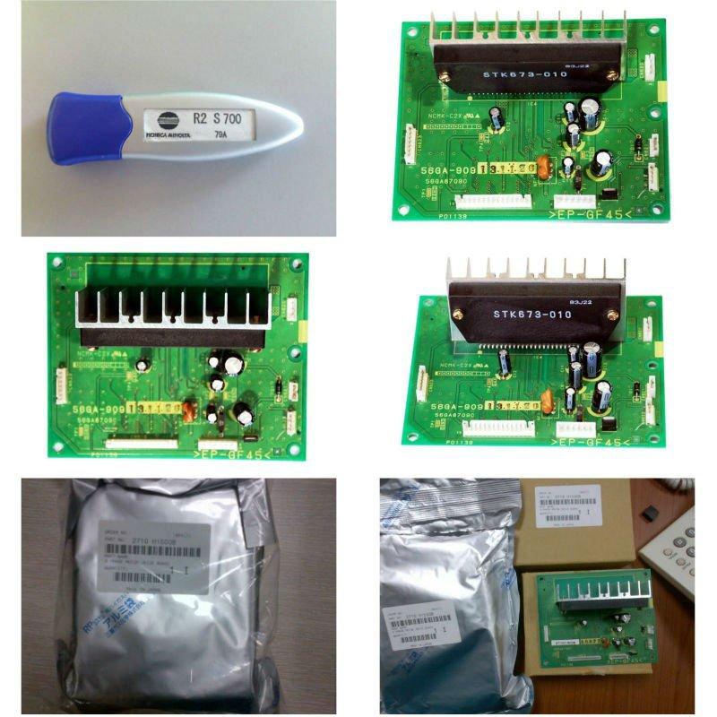 Konica MINOLTA R2 de piezas de repuesto y PCB