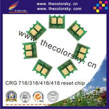 (CZ-CRG716) toner laser printer reset chip resetter for Canon LBP 5050 5460 7200 9100 9600 MF8050 MF7750 MF8350 KCMY