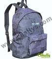 promocional mochila de lona para la escuela