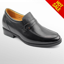 Business casual men shoes loafers with shoes lifts for men