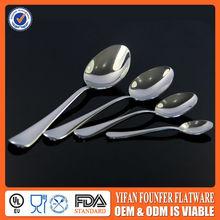 Newest item silver Metal measuring spoon