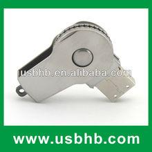 Fashioned Metal sliver usb flash drive swivel,metal 32gb usb flash drives with CE FCC ROHS