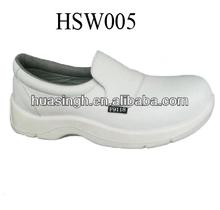 XM,Korean fashionable style white/black microfiber upper dirty resistant lab shoes