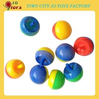 Cheap toy plastic spinning top