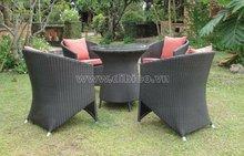PE Rattan Coffee Table Set/ Outdoor furniture/ Garden set