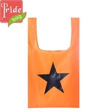 Top Grade Promotional Print Own Logo Nylon Shopping Bag