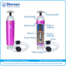C-Top Brand Supplier Diercon water filter systems outdoor emergency water filtration TUV SUD TEST Wholesale (KP02)