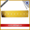 shantui bulldozer sd16 heavy duty spareparts straight blade cutting edge with a good packing
