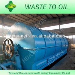 12 tons waste tyre pyrolysis machine to make crude oil