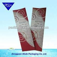 Aluminum foil side gusset coffee bags