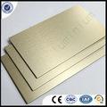 Chapa de aluminio de metal