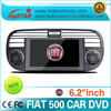LSQ Star 2 Din Autoradio For Fiat 500 Wholesale With Gps Navigation Radio Bluetooth Rds Canbus Dvd Ipod Phonebook ..hot Selling