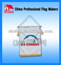 Custom printed promotion cheap pennants