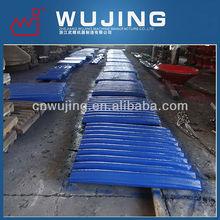 alloy high manganese steel jaw plate for mesto sandvik crusher