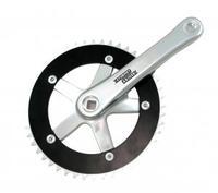 SUNRACE 44 Teeth Aluminum Single Speed Bike Crankset FCT44