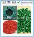 Coloridos de plástico matérias-primas para acessóriosparatubos