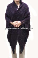 new design fashion ladies acrylic pashmina shawl