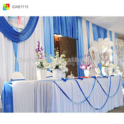 IDA new new indian window curtains for wedding and stage popular exhibition accerssaries
