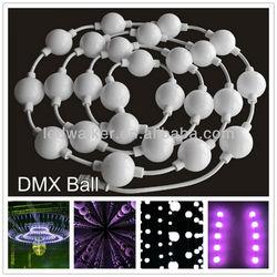 DMX rgb ball 360 degree 50mm led balls customized pitch