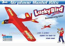 Fun Toy Lucky Bird Boomerang Glider Flying Toy