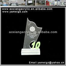 victory trophy figures metal personal achievement design