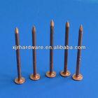 copper square boat nail
