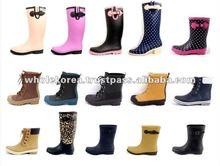 Korean Style Fashion Rainboots / 2013 New Style