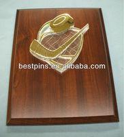 hockey trophy plaque