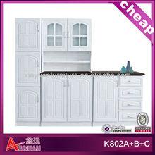 pvc newest design kitchen furniture pictures