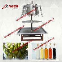 No dynamo New design vinegar wine filling machine/wine filler/beverage filling machine