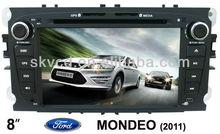 "(FORD MONDEO(2011)) 7"" HD digital TFT car DVD GPS player, with TV, radio, bluetooth"