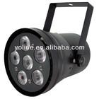 Dimmable led spotlight mini shape RGB 3W par can