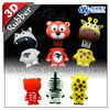 promotional christmas animal shape USB Flash Drives OEM