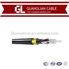 Hot selling Aerial 2~144 Fibers adss fiber optic