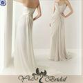 Jj3134 Elgant sin tirantes de la gasa vestido de boda Kleinfeld
