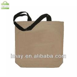 Custom made colored cotton shopping bag