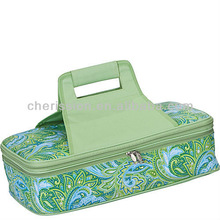 Entertainer insulated picnic cooler case outdoor cooler