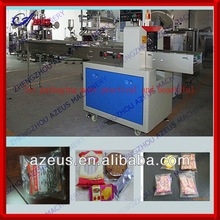 Azeus candy pillow type packing machine flow pack machine beef jerky