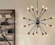 American style Sputnik pendant lamp