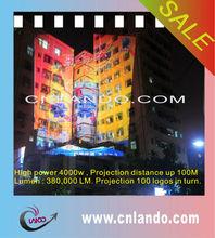 logo projector advertising light