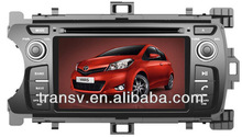 8 inch touch screen WinCE 6.0 GPS Car DVD for CD-T057 TOYOTA YARIS 2011-2012