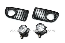 Front Fog Light & Grille Kit For VW Volkswagen Golf MK4 R32