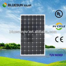 Top sale China origin for Mexico monocrystalline 250wp solar panel pallets