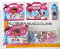 hot sell plastic cartoon doll toy doc mcstuffins