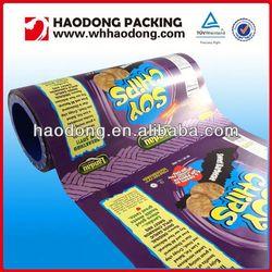 Custom aseptic soft packaging film types