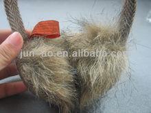 Headband Covering Ear Muff Fox Fur Ear Muff